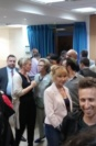 Networking At A Jlm-Biocity Event-Tomsk (Russia) Biomed And Healthcare Delegation To Israel