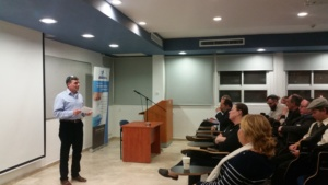 "Dr. Joseph Straus speaking at JMN-BioCity's ""How to Perfect your Investment Pitch - from Seed to Exit"""