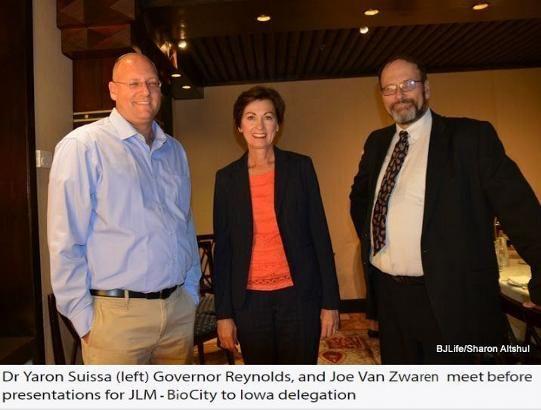 JLM-BioCity Iowa Governor Kim Reynolds biomed