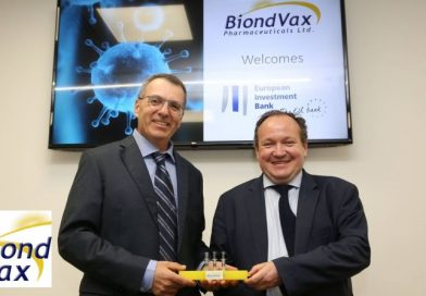 European Investment Bank VP Attends Signature Event at BiondVax Extending Financing  to €24million