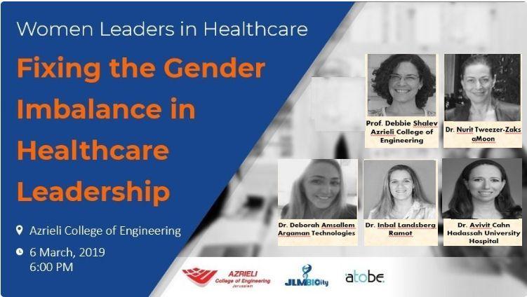 "Women Leaders in Bio: ""Fixing the Gender Imbalance in Healthcare Leadership"""
