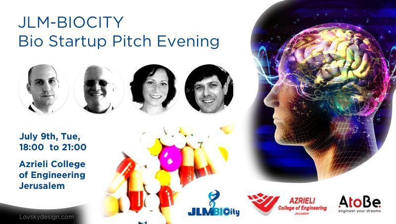 JLM-BIOCITY Bio Startup Pitch Evening