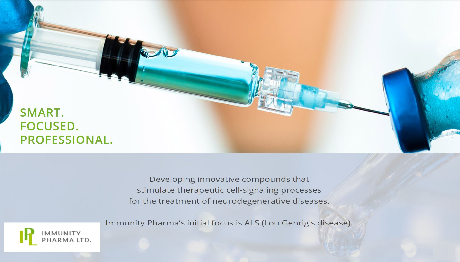 Promising Results in Immunity Pharma's Interim Phase 1/2a IPL344 in ALS Study