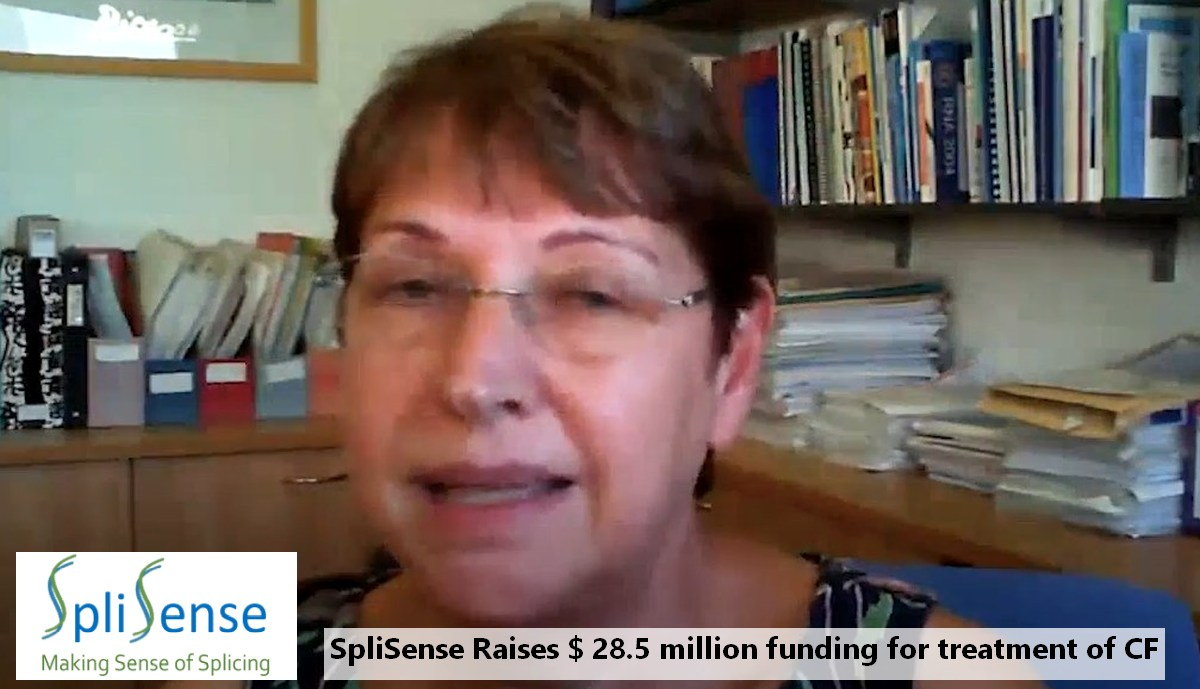 SpliSense Raises $28.5 Million for Treatment of CF