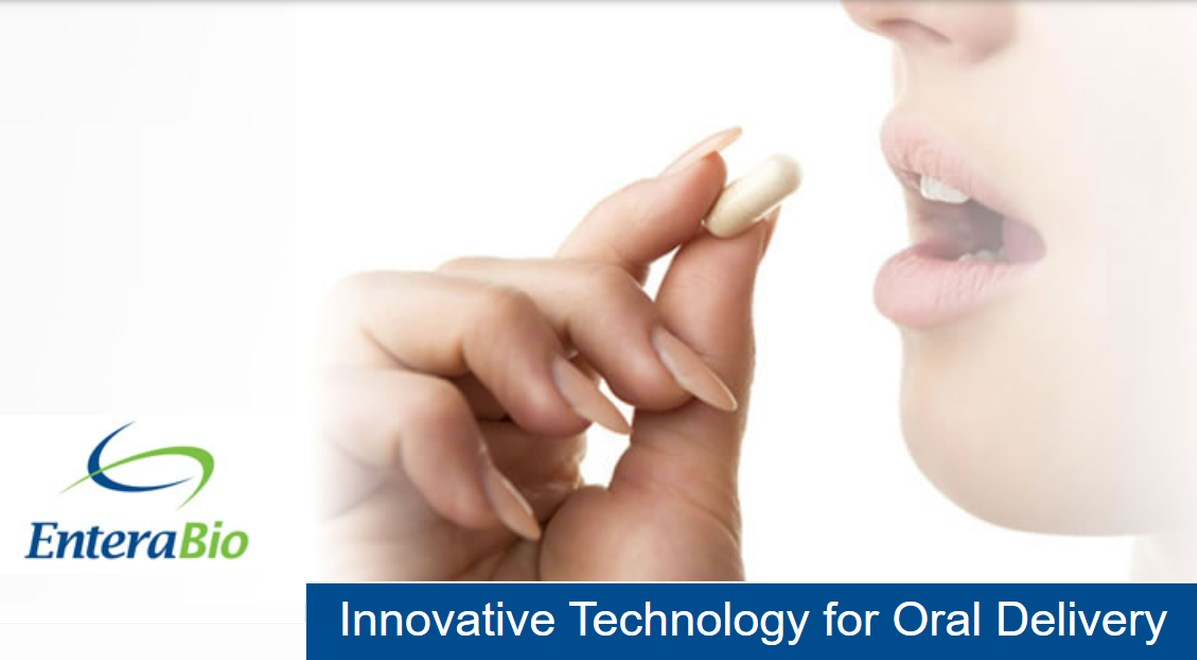 Entera Bio EB613 Positioned to be First Oral Bone-Building Agent for OsteoporosisTreatment