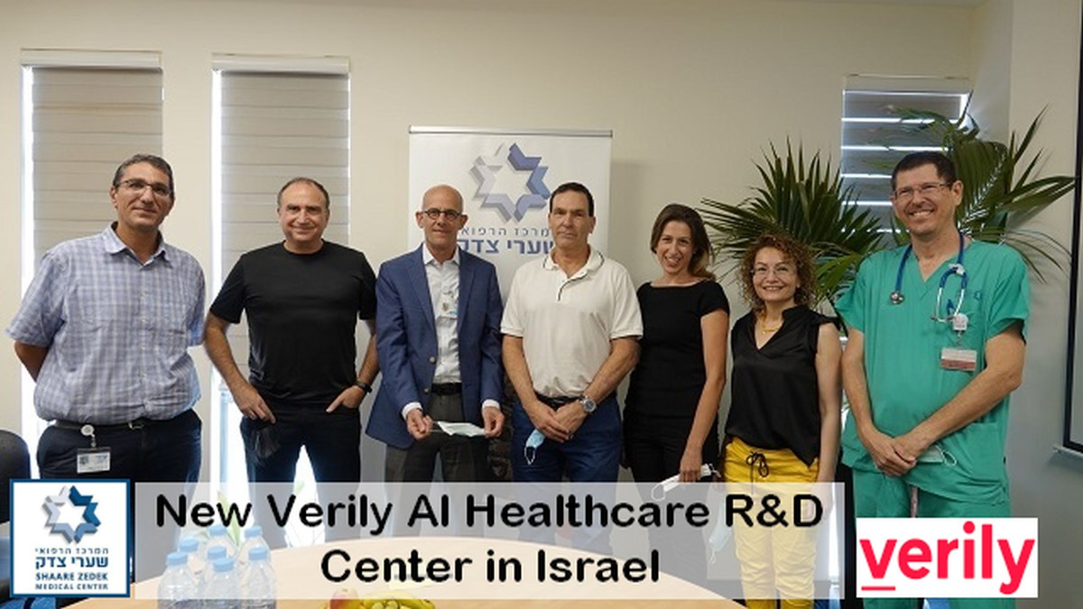 Google's Verily/Shaarei Zedek Medical Center Collaboration leads to new Israel Healthcare AI/R&D Center