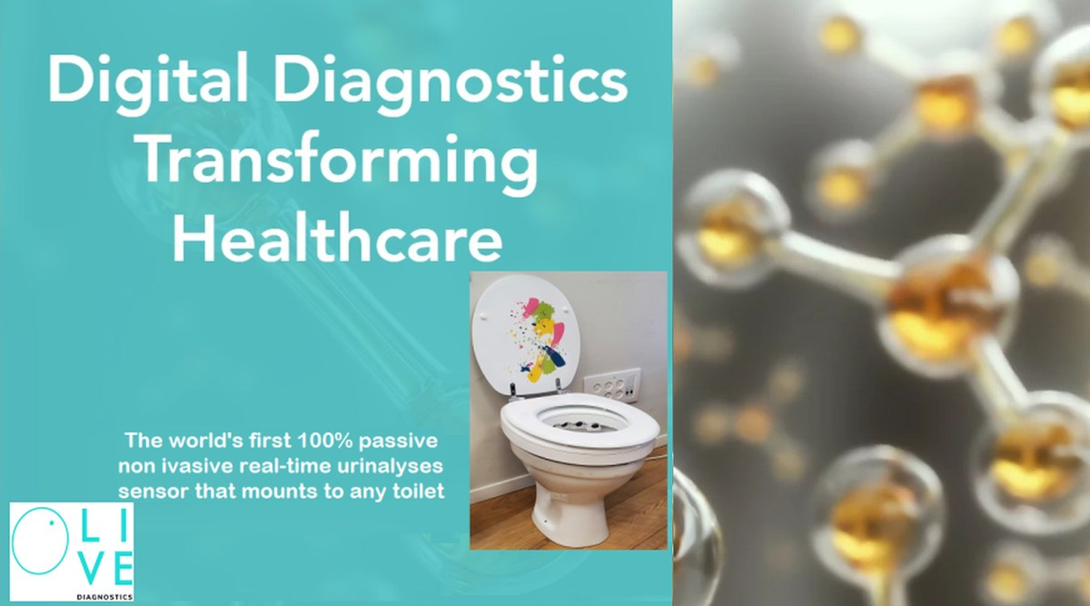 Startup Olive Diagnostics' Hands-free Urinalysis Raising $5M Round Led by Maccabi