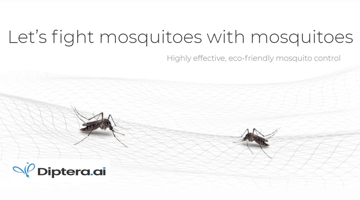 Diptera.ai Raises $3 Million to Fight Mosquitoes with Mosquitoes