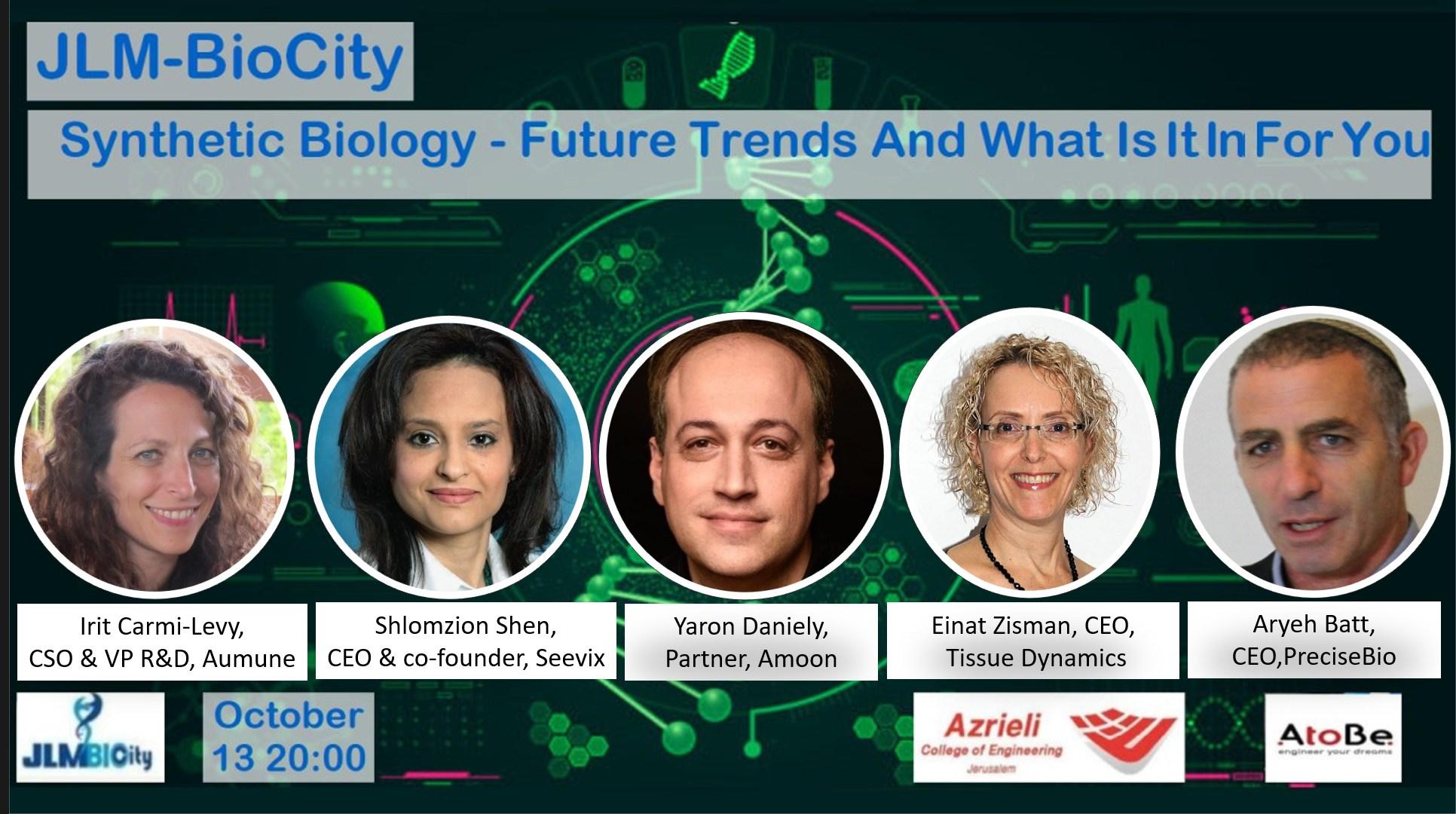 JLM-Biocity Event on Synthetic Biology